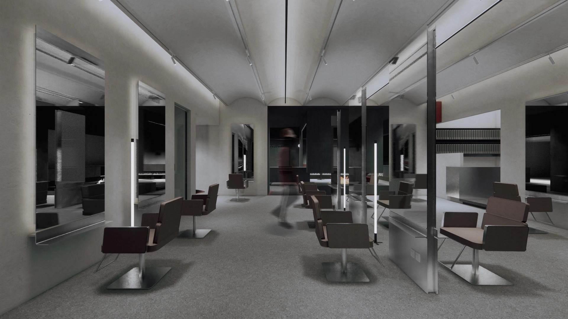 空间分布合理性当设计一家美发店时,首先应该按照实际空间的使用去考虑每一个区域的安排,充分利用好每一寸空间,既发挥每一处空间的作用,又迎合顾客的心理。一般的大型美发店应该由:美发区、烫染区、洗头区、冲水区、产品区、休息区(客人休息区、员工休息区)色吧区、接待区、前台区、办公区。