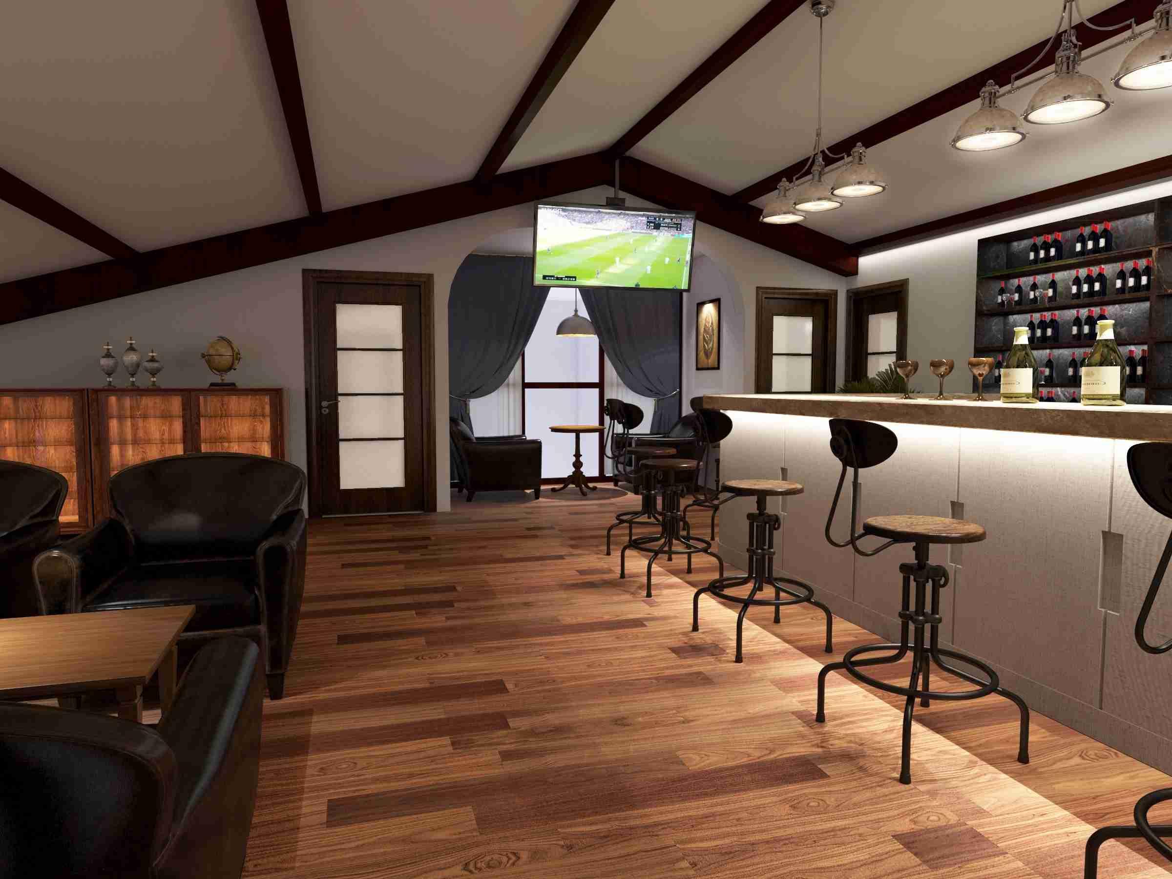 通过独特的设计手法,使大厅免于单调,厚重的色调,金色与灰褐垫定了整体空间的两大基调、灰中透着轻盈,质朴中彰显高级,配以柔和的灯光,营造出空间静谧的文化氛围,让大厅搭配出一种高雅脱俗之感。将此一分为二,划出了设计多样的哲学观。方圆之间,别有洞天。