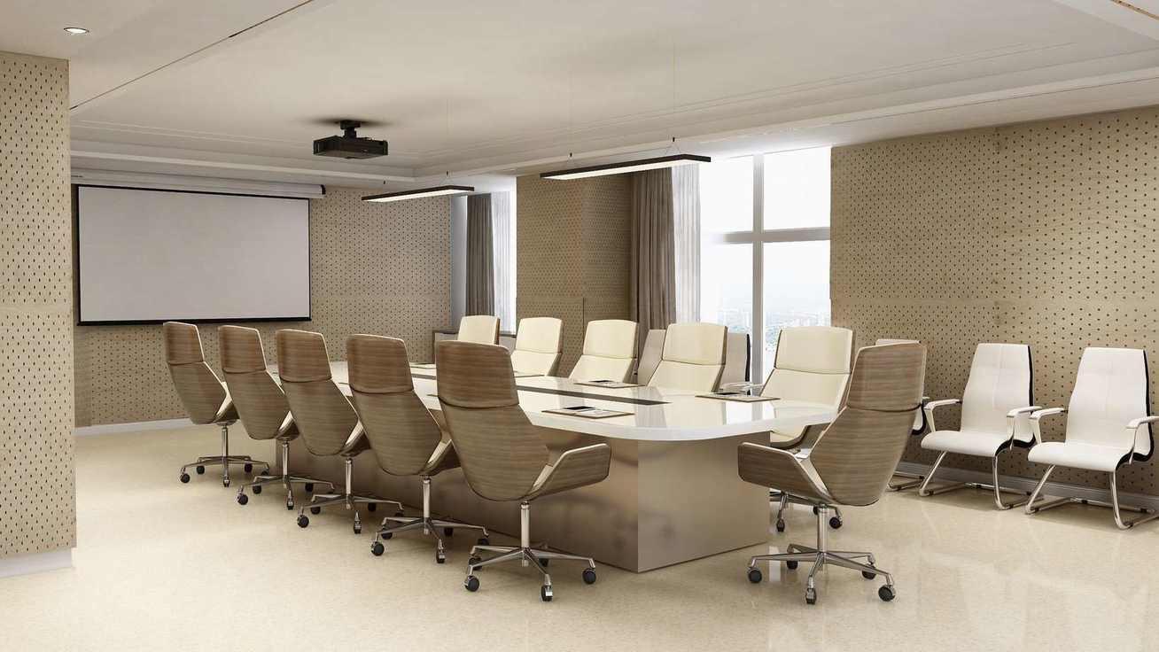 会议室,平时是为了公司的召开会议,主要是对问题的解决和讨论,所以我使用了大量的白黄暖色,来维持员工在开会的清晰干感,焕发人员对公司的管理和设计方案的创新思维。