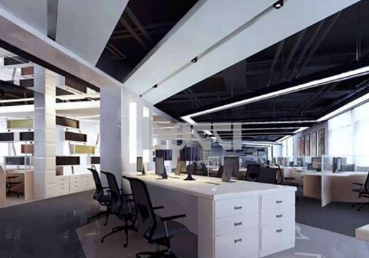 办公空间装饰设计不同功能区域的照明