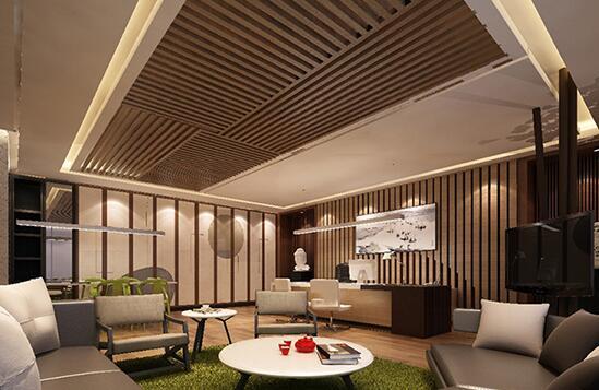 怎样做好商业写字楼皇冠设计室内灯具的安装