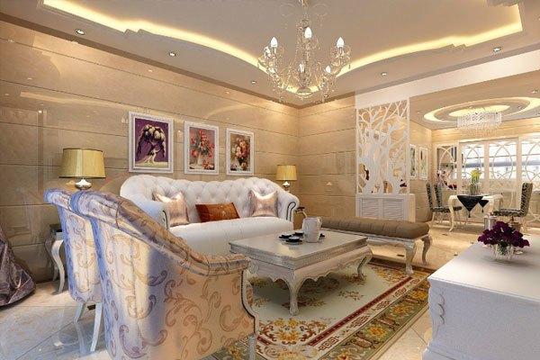 <br>3、注重软装搭配<br> 欧美风格十分重视软装的协调,常常运用上一些浮雕和彩绘,如多色织物、理石、精美的地毯及精致的壁挂,另外精美的油画、浪漫的罗马帘、制作精良的雕塑工艺品都是欧美风格装修中不可缺少的搭配。<br> 4、适用于大面积的空间<br> 因为欧美风格的整个装扮显得有些复杂而且厚重,,做成开所以更加适合大尺寸的房子中放形式或挑空结构,运用大面积的玻璃窗和落地窗帘凸显气派。若空间太小就无法展示其风格气势,反而对生活在里面的人造成一丝丝压迫感。<br> 5、花卉图案的运用<br> 这是很关键的一个元素,主要体现在了家私、床品、垫子等纺织品上,打错出一个欧美系列的家,在家也可以感受到独有的自由奔放的气息,温暖舒适跃然心头,放松自己。<br><br><br><br> Tag:办公室装修室 内装修设计图 设计效果图